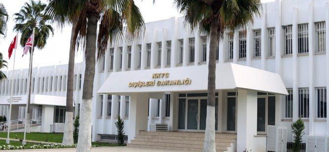 """Dışişleri Bakanlığı:''Güney Kıbrıs Rum Yönetimini BM Güvenlik Konseyi'nin bu yöndeki çağrısına uymaya davet ediyoruz"""""""