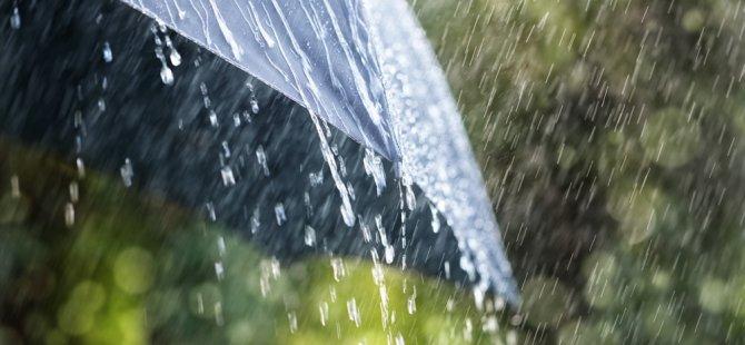 En fazla yağış Dipkarpaz ve Kırıkkale'de kaydedildi