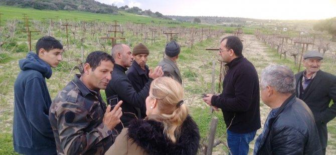 Tarım Dairesi eğitim çalışmalarına bu hafta Ziyamet köyü ile devam etti