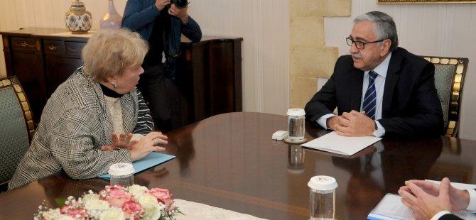 Cumhurbaşkanı Akıncı, Lute'la görüştü