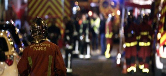 Paris'te yangın faciası