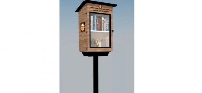 LTB, Lefkoşa'nın çeşitli bölgelerine sokak kütüphaneleri yerleştiriyor!