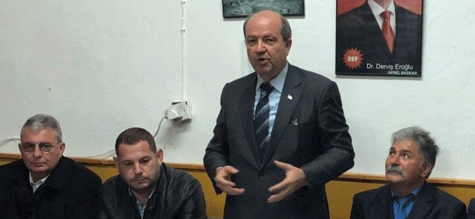 Tatar, UBP Esentepe Örgütü'nü ziyaret etti