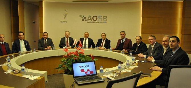 Sanayi Odası Adana'da sabancı organize sanayi bölgesi ve Adana Ticaret Odası'nı ziyaret etti