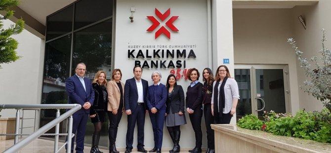 İş Kadınları Derneği Heyeti Kalkınma Bankası'nı ziyaret etti