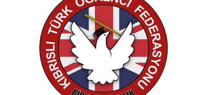 Birleşik Krallık Kıbrıslı Türk öğrenci federasyonu Rum öğrenci Örgütünü kınadı
