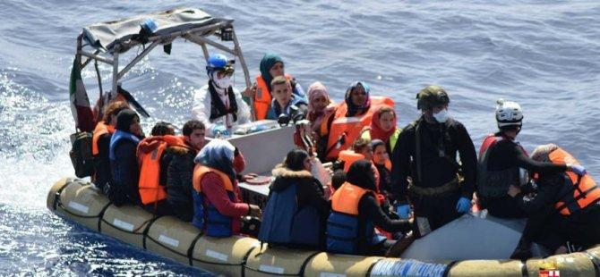 """""""Fransa, Akdeniz'de kurtarılan göçmenleri artık almayacak"""""""