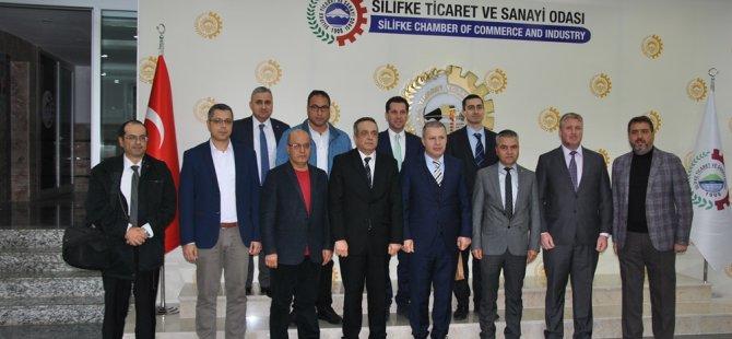 KTSO heyeti Adana, Mersin-Tarsus ve Silifke'de organize sanayi bölgelerini inceledi
