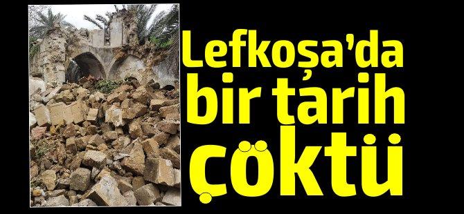 Lefkoşa'da bulunan tarihi St. Jacops Kilisesi çöktü