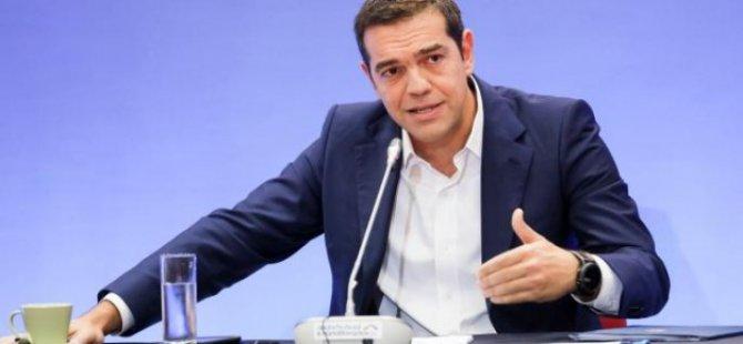 """Tsipras: """"Kıbrıs'ın kaynakları adadaki Türklere ve Rumlara ait"""""""