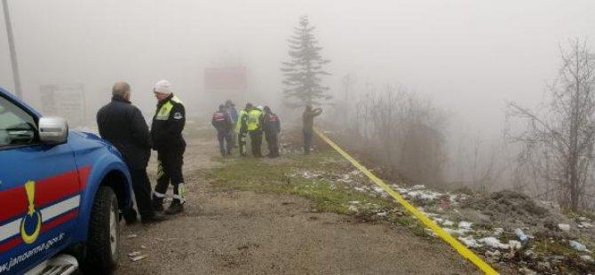 Bolu Dağı'nda bavul içinde başı kesik ceset: Katil anayoldan aşağı yuvarlamış