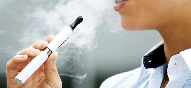 Elektronik sigara masum değil