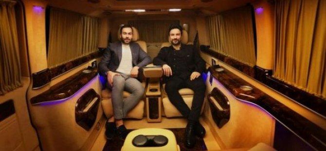 Tarkan VİP minibüsünü özel tasarlattı