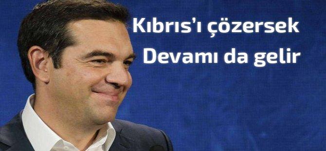 Tsipras: 'Kıbrıs'ı çözersek devamı da gelir'