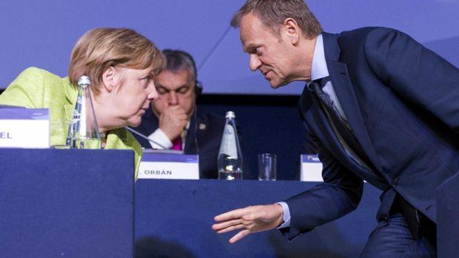 AB Konseyi Başkanı Tusk: Merkel ve Rutte'nin mülteci anlaşması için Türkiye'yle gizli görüşmeler yaptığına inanamadım