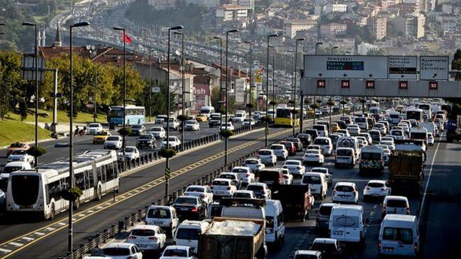 İstanbul, dünyada en çok trafik sıkışıklığı yaşanan kentler listesinde 2. sıraya yükseldi