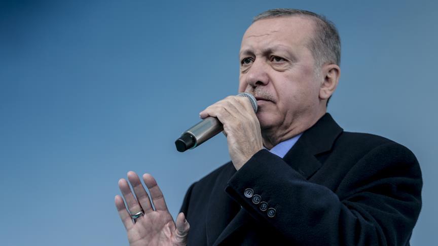 Erdoğan: Ülkemizi patlıcan üzerinden ters köşe yapmaya çalıştılar