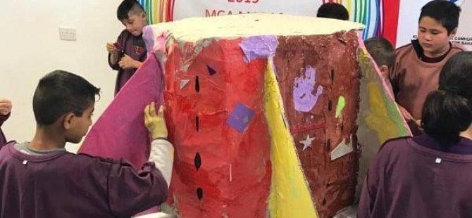 Maraş'ta Çocuklara Yönelik Maksimum Sanat Minumum Risk Kampı başladı