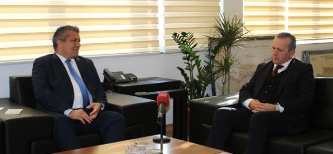 Ataoğlu ve Arter Gazimağusa'yı konuştu