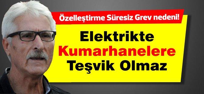 """""""Nami Kıb-TEK'i Sermayeye teslim etmek istiyor!"""""""