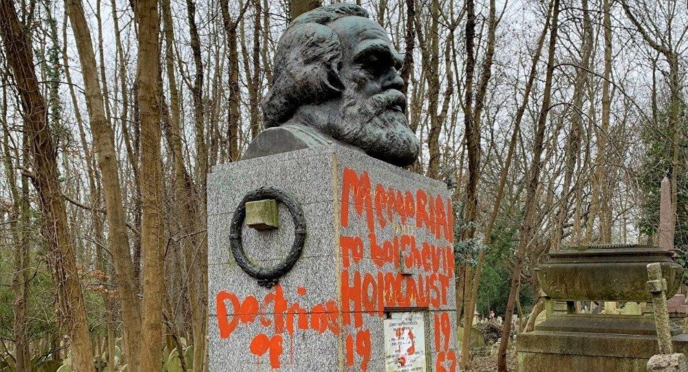 Karl Marx'ın mezarına iki haftada ikinci saldırı