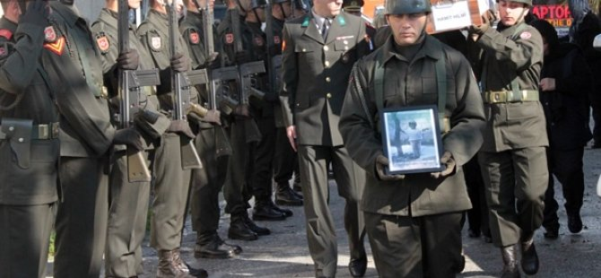Kayıp Hamit Hilmi askeri törenle defnedildi