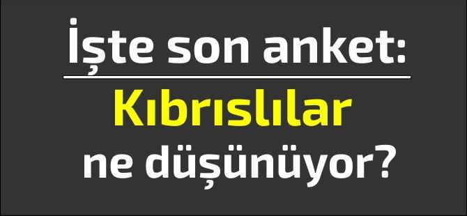 Son anket: Adada Rumlar ve Türkler ne düşünüyor?