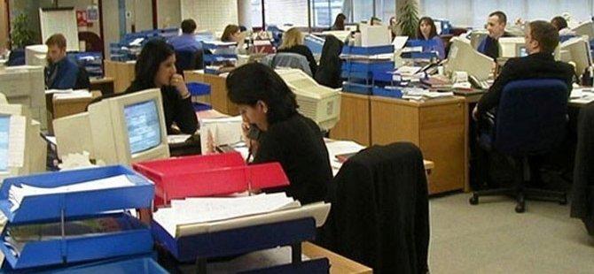 Güney Kıbrıs'ta 51 bin kamu çalışanı var