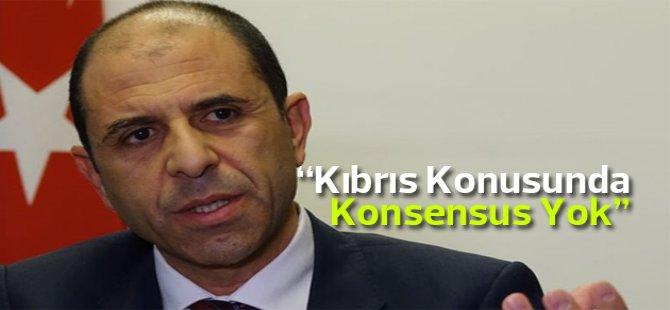 Özersay: Kıbrıs konusunda siyasi partilerin görüşlerinde değişlik yok
