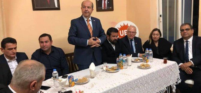 """Tatar: """"Kıbrıs Türk Halkının daha yüksek bir refah seviyesine ulaşması gerekiyor"""""""