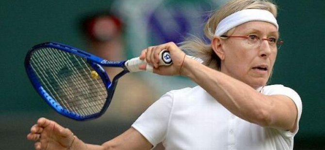'Trans kadınların yarışlarda yer alması hile' diyen Navratilova'ya tepki yağdı
