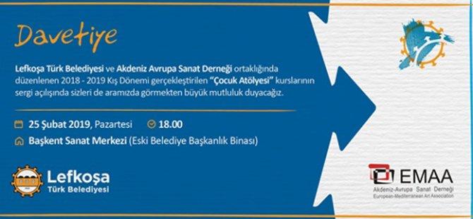 LTB ve EMAA'nın 'Çocuk Atölyesi Sergisi' Pazartesi açılacak
