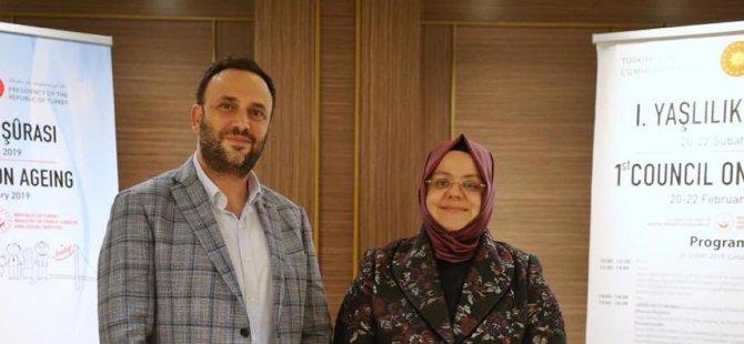 Çeler Ankara'da Aile Çalışma ve Sosyal Hizmetler Bakanı Selçuk ile biraraya geldi
