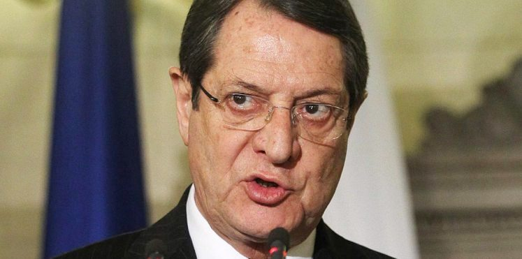 Siyasi partiler Anastasiadis'i topa tuttu