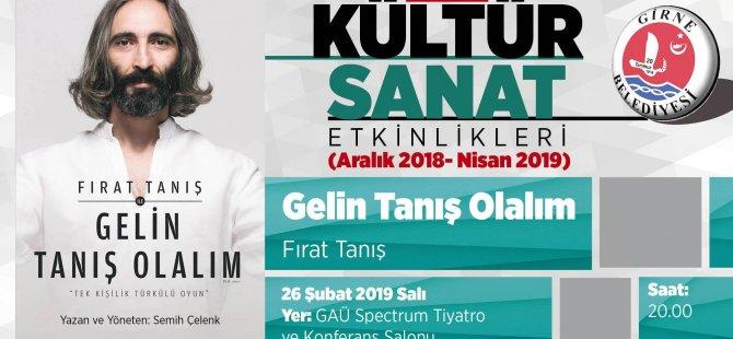 """Türkü Müzikali """"Gelin Taniş Olalim"""" Girne'de…"""