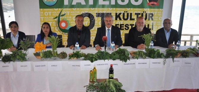 4.Tatlısu ot kültür festivali basın toplantısı gerçekleştirildi