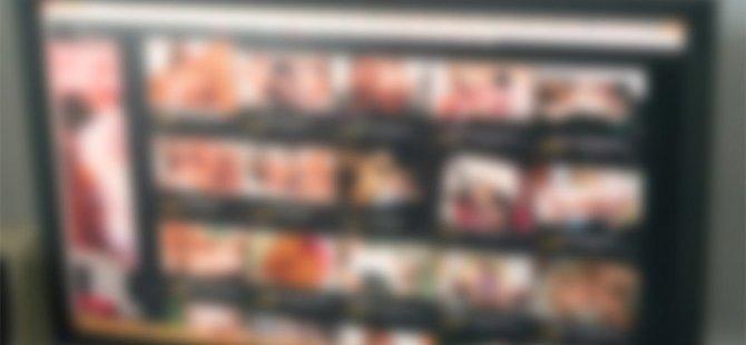 Hasta bekleme ekranlarında porno film yayını yapıldı (video)