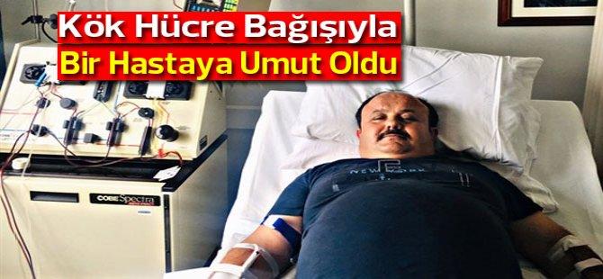 Türkiye'de ilik nakli bekleyen genç bir erkek hastaya umut oldu