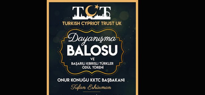 Başbakan Erhürman,Londra'da Dayanışma Balosu'na katılacak