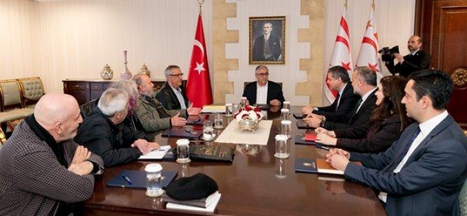 Akıncı, Kültür Teknik Komitesi ile toplantı yaptı