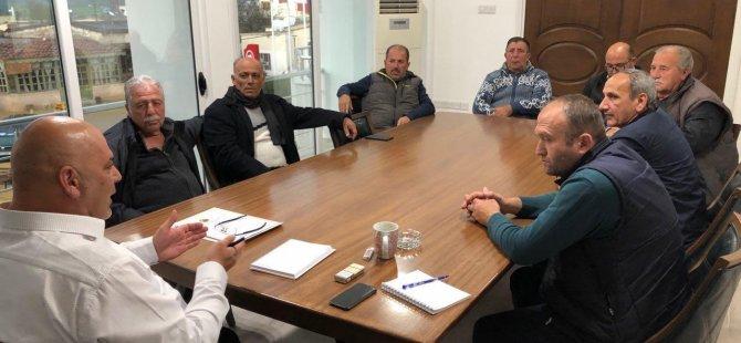 '' Bölge muhtarları ile istişare toplantısı gerçekleştirildi ''