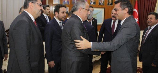Şentop, Erhürman'ı ziyaret etti
