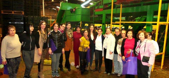 CTP'liler emekçi kadınlarla buluştu
