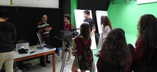 DAÜ'de lise öğrencilerine yönelik atölye çalışmaları tamamlandı