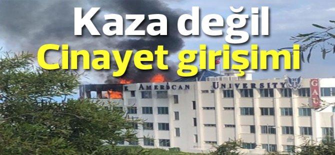 Akpınar, yangınla ilgili tutuklama kararı çıktığını açıkladı
