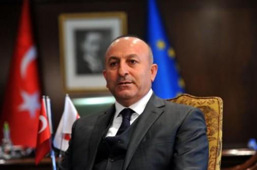 """Çavuşoğlu: """"Kıbrıs konusunda adımlar atıldıktan sonra doğal gaz gibi önemli zenginlikler değerlendirilecek"""""""