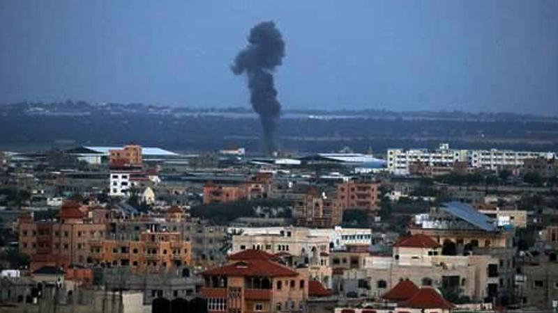 İsrail, Gazze'ye yönelik hava saldırısı başlattı