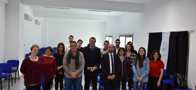 ' Kıbrıs Türk Edebiyatı ve Kitap ' Konulu Söyleşi Gerçekleştirildi