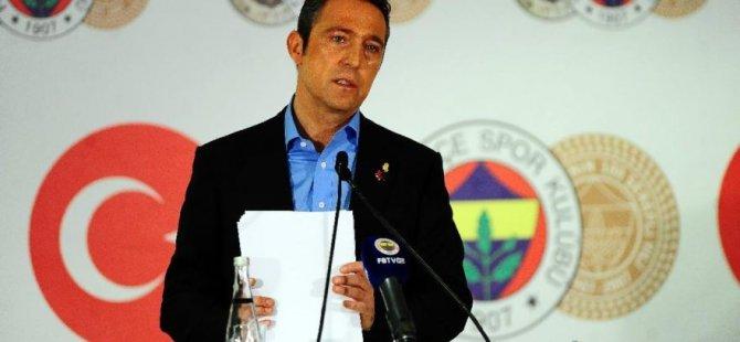 Ali Koç: Bir Galatasaraylı Fenerbahçe'ye 500 bin TL bağış yaptı