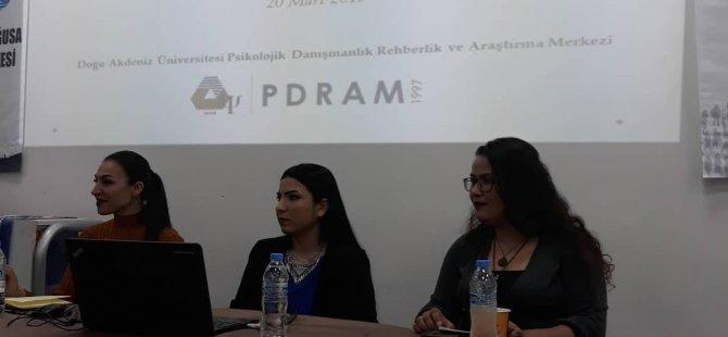 """DAÜ-PDRAM """"Yaşlılık Dönemi ve Hakları"""" üzerine seminer verdi"""